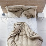 rumpled bed